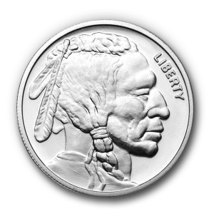 1 oz. Silver Buffalo Rounds