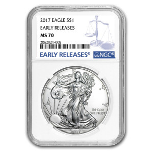 2017 Silver American Eagle MS-70 NGC (Early Releases)