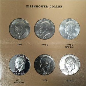 DANSCO 32-Piece Eisenhower Set - Choice Proof / Choice Uncirculated - 1971-78