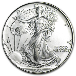 1993 Silver Eagle - Brilliant Uncirculated