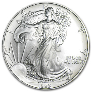 1995 Silver Eagle - Brilliant Uncirculated