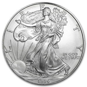 1996 Silver Eagle - Brilliant Uncirculated