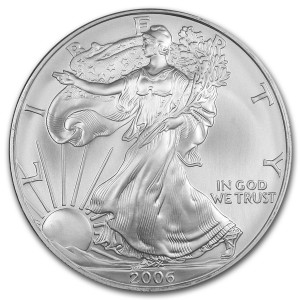 2006 Silver Eagle - Brilliant Uncirculated