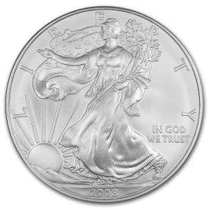 2008 Silver Eagle - Brilliant Uncirculated