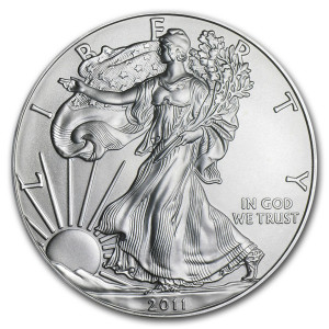 2011 Silver Eagle - Brilliant Uncirculated