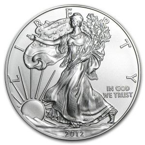 2012 Silver Eagle - Brilliant Uncirculated