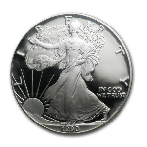 1990-S American Silver Eagle - Proof