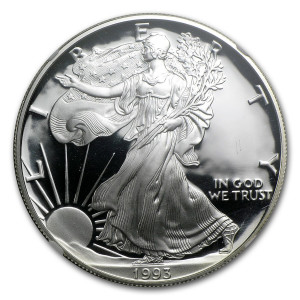 1993-P American Silver Eagle - Proof
