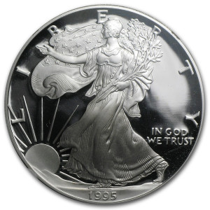 1995-P American Silver Eagle - Proof