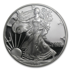 1997-P American Silver Eagle - Proof