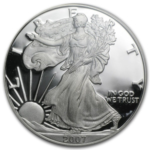 2007-W American Silver Eagle - Proof