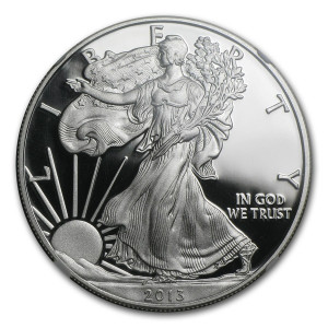 2013-W American Silver Eagle - Proof