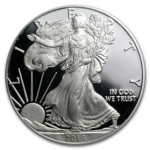 2014-W American Silver Eagle - Proof