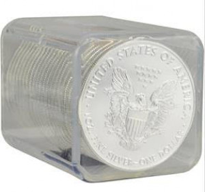 2017-(S) Silver Eagles Struck at San Francisco Sealed Rolls (20 Coins) - PCGS Certified Gem Uncirculated