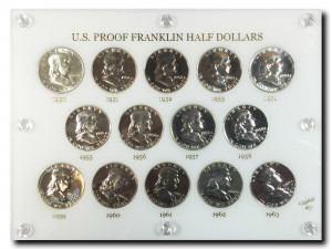 Ben Franklin Half Dollar - Proof Set
