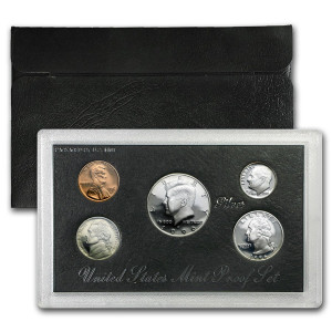 1996 Silver Proof Set