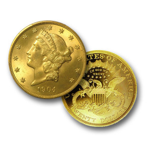 America's First $20 Gold Coin - Liberty Head (BU)
