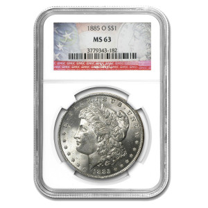 Morgan Dollar MS-63 NGC/PCGS