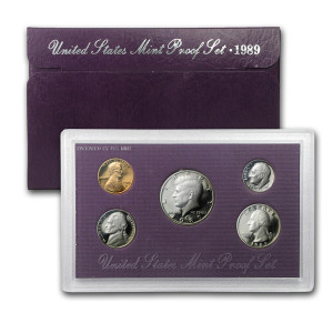 1989 U.S. Proof Set
