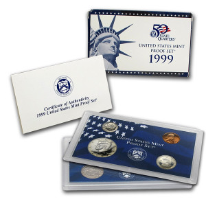 1999 U.S. Proof Set