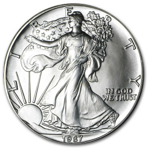 1987 Silver Eagle - Brilliant Uncirculated