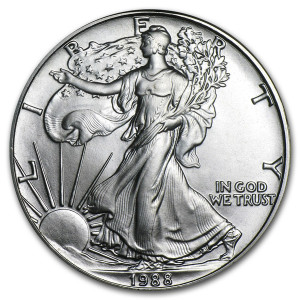 1988 Silver Eagle - Brilliant Uncirculated