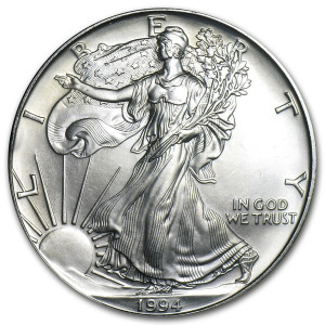 1994 Silver Eagle - Brilliant Uncirculated