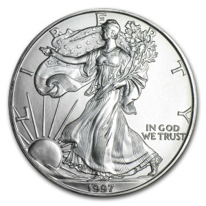 1997 Silver Eagle - Brilliant Uncirculated