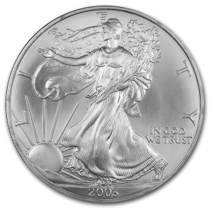 2003 Silver Eagle - Brilliant Uncirculated