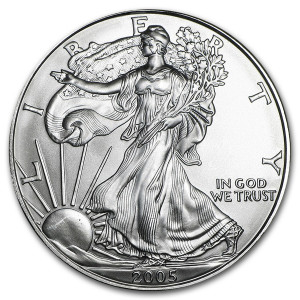 2005 Silver Eagle - Brilliant Uncirculated