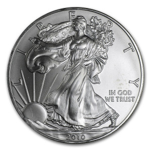 2010 Silver Eagle - Brilliant Uncirculated