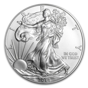 2014 Silver Eagle - Brilliant Uncirculated