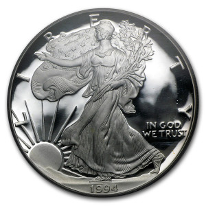1994-P American Silver Eagle - Proof