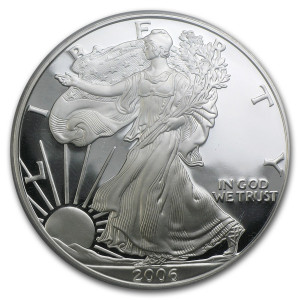 2006-W American Silver Eagle - Proof