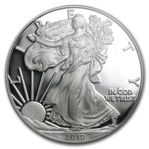 2010-W American Silver Eagle - Proof