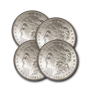 Precious Denver Mint Morgan Silver Dollar (BU)